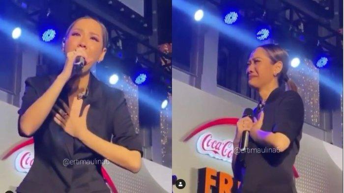BCL Nyanyi Lagu Aku Tak Mau Sendiri setelah Ashraf Tiada, Bergetar saat Ucap 'Kirim Aku Malaikatmu'