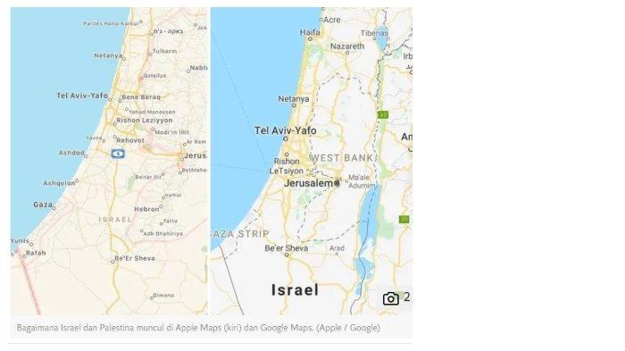 Palestina Ancam Google dan Apple Setelah Wilayahnya Dihapus